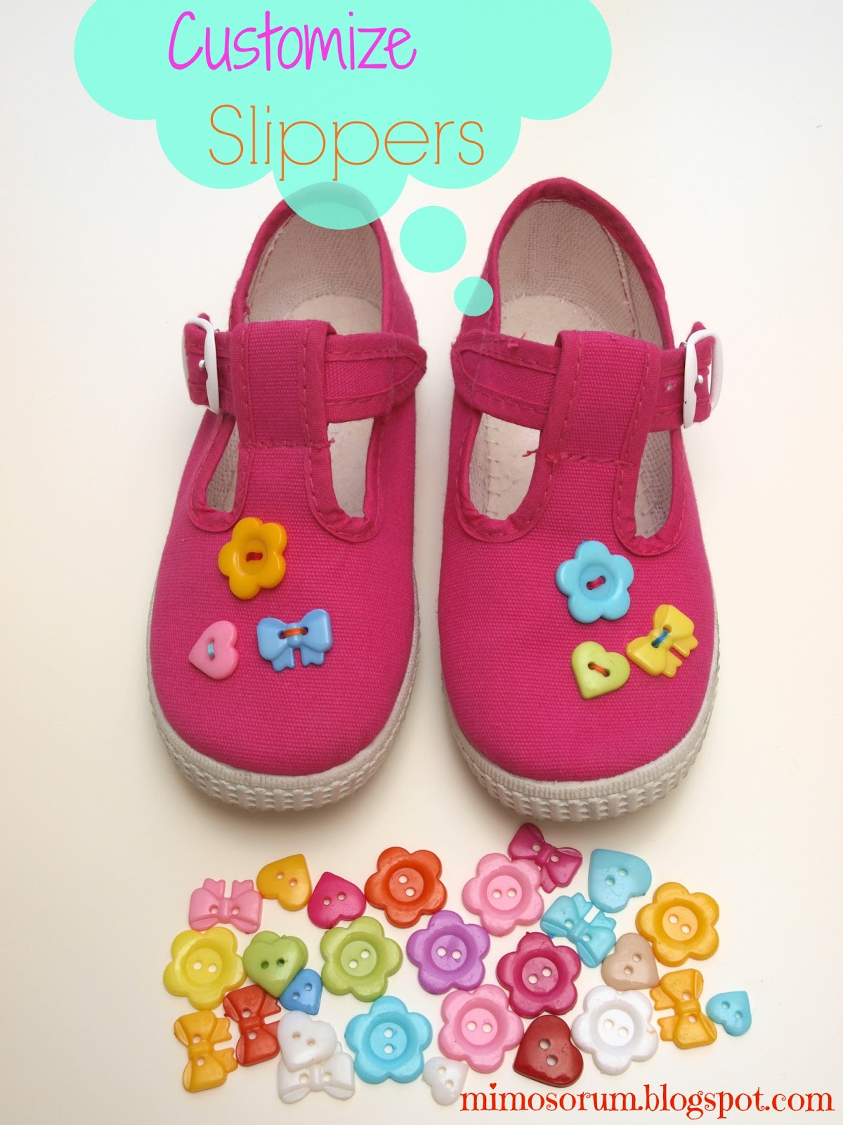 Customize Slippers. Mimosorum