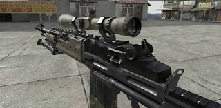 M14EBR MW3