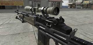 M14EBR MW3
