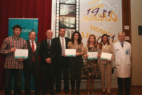La Fundación del Peset y Bancaja entregan 4 contratos de investigación