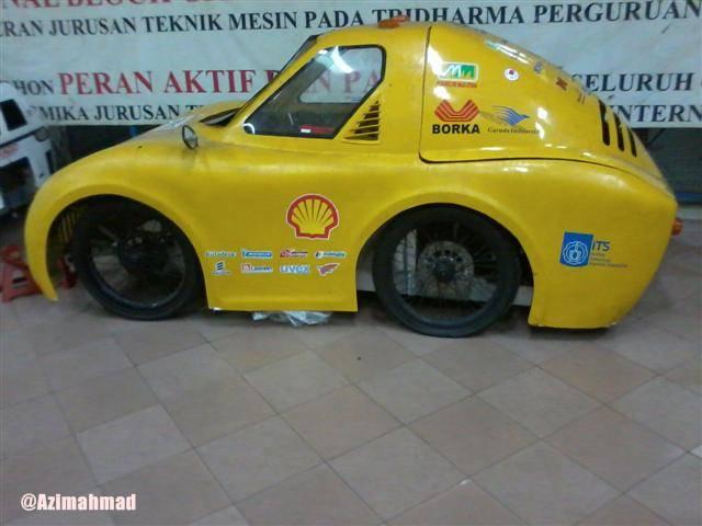Salah Satu Karya Mirip Mobil di ITS Surabaya.