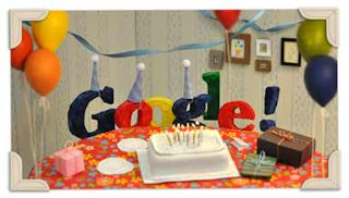 Google 13th birthday Doodle