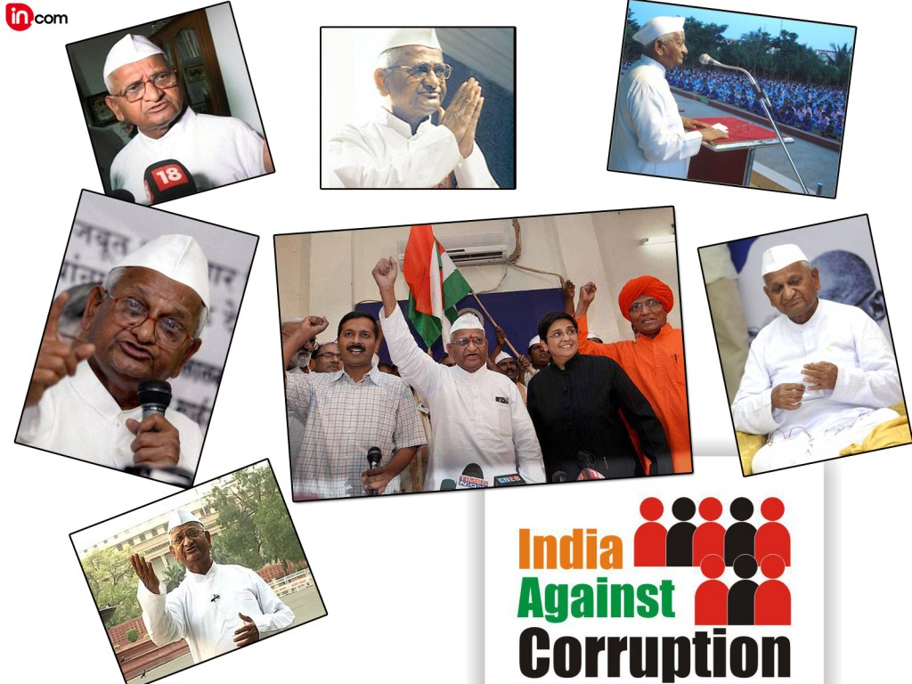 anna hazare anti corruption movement essay Anna plans to launch his movement in the national capital either by december  2017 or january 2018.