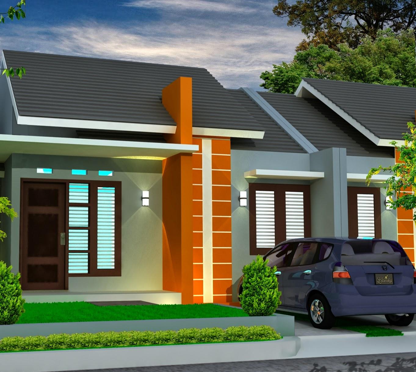 rumah sederhana type 45 minimalis blog koleksi desain rumah