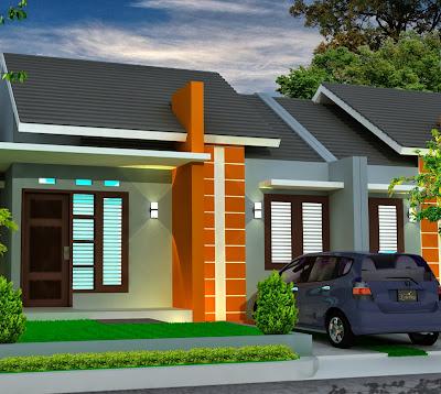 rumah sederhana type 45