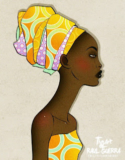 Mujeres Africanas Pinturas
