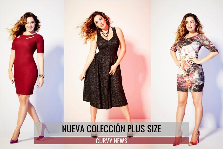 Kelly Brook nueva colección Plus Size para Simply Be