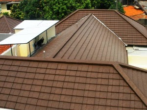 kemiringan atap rumah karena kemiringan ata rumah akan berpengaruh