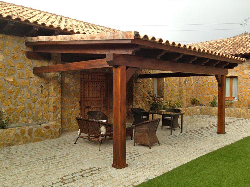 Gallart grupo el blog suelos y puertas de madera en asturias diferencias entre porches - Porches para coches ...