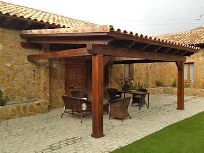 Gallart grupo el blog suelos y puertas de madera en - Construccion de porche de madera ...