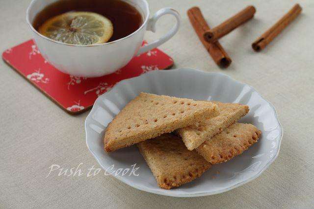 Английское печенье с корицей