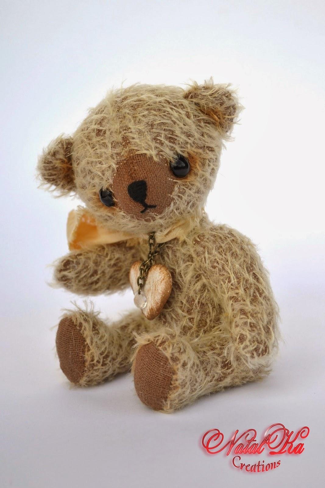Künstler Teddybär handgemacht von NatalKa Creations.