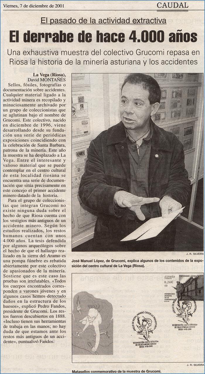Exposición de Coleccionismo minero de Grucomi en Riosa