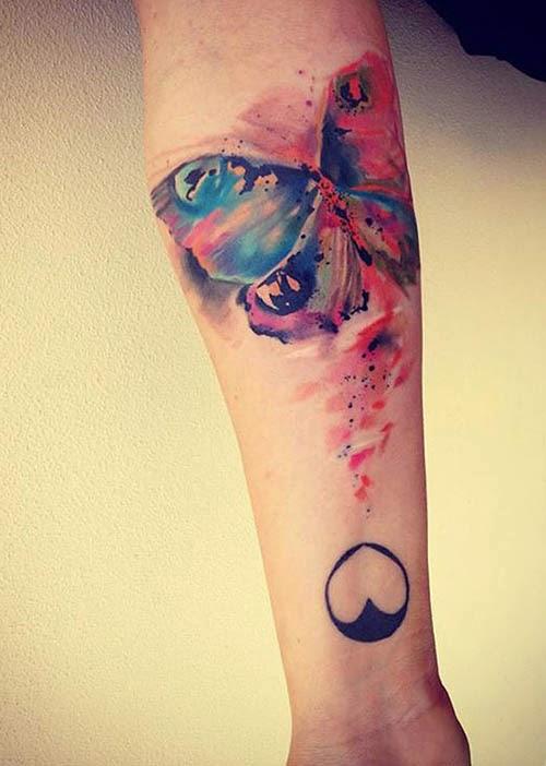 Tatuajes Para Mujeres Tatuajes Acuarela