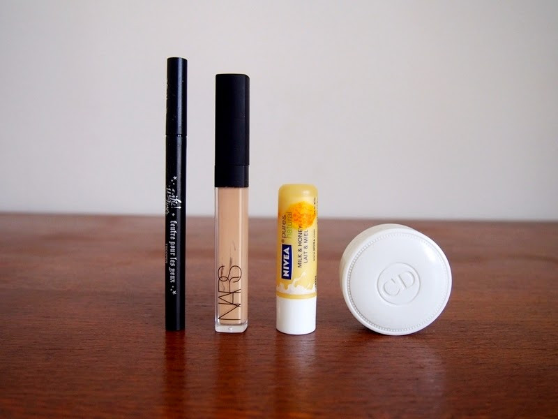 empty makeup products