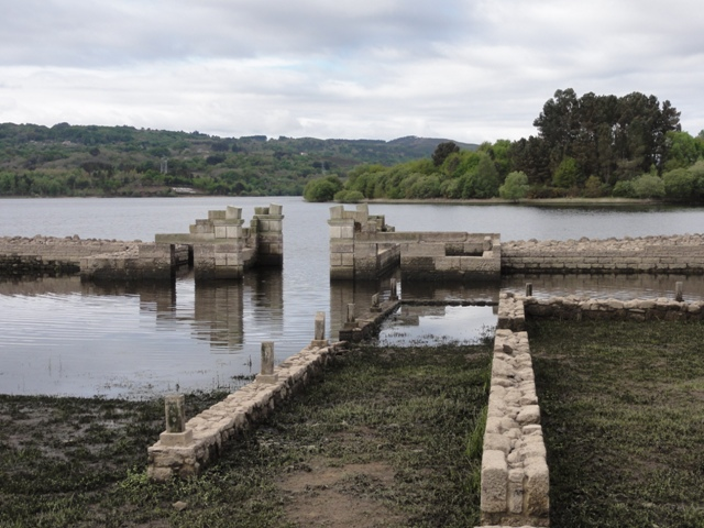 Baños Romanos De Bande: antiguo campamento militar romano Aquae Querquennae (Bande, Ourense