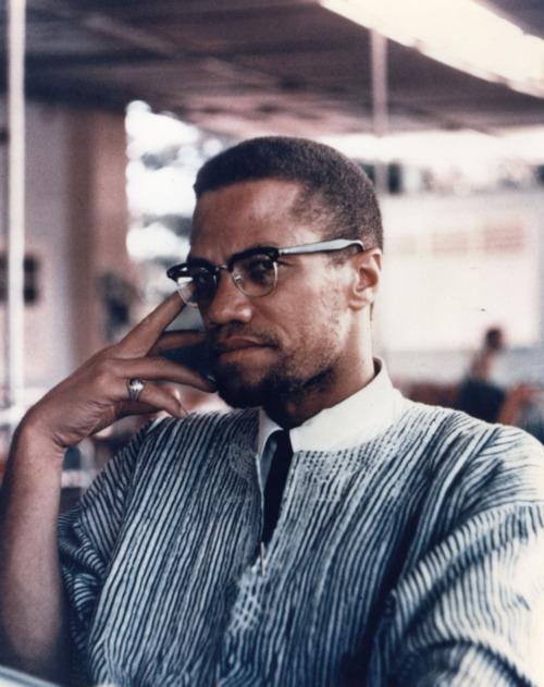 Malcolm X in Africa