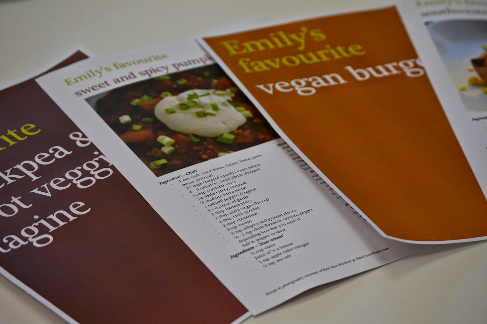 My favourite vegan recipes
