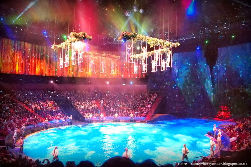 The House of Dancing Water show in Macau, China