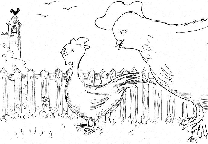La abuela atómica: El gallito Escarlati 2º y 3er ciclo