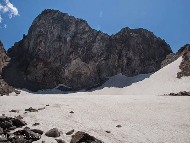 Grasshopper Glacier, Crazy Mountains, Montana