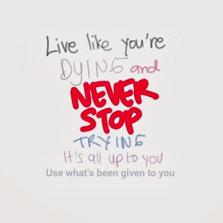 live like youre dying essay Live like you were dying by: tim mcgraw link to the lyrics:.
