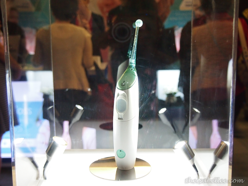Philips AirFloss makes oral hygiene easier