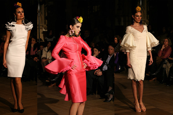 Vestidos de fiesta inspiracion flamenca