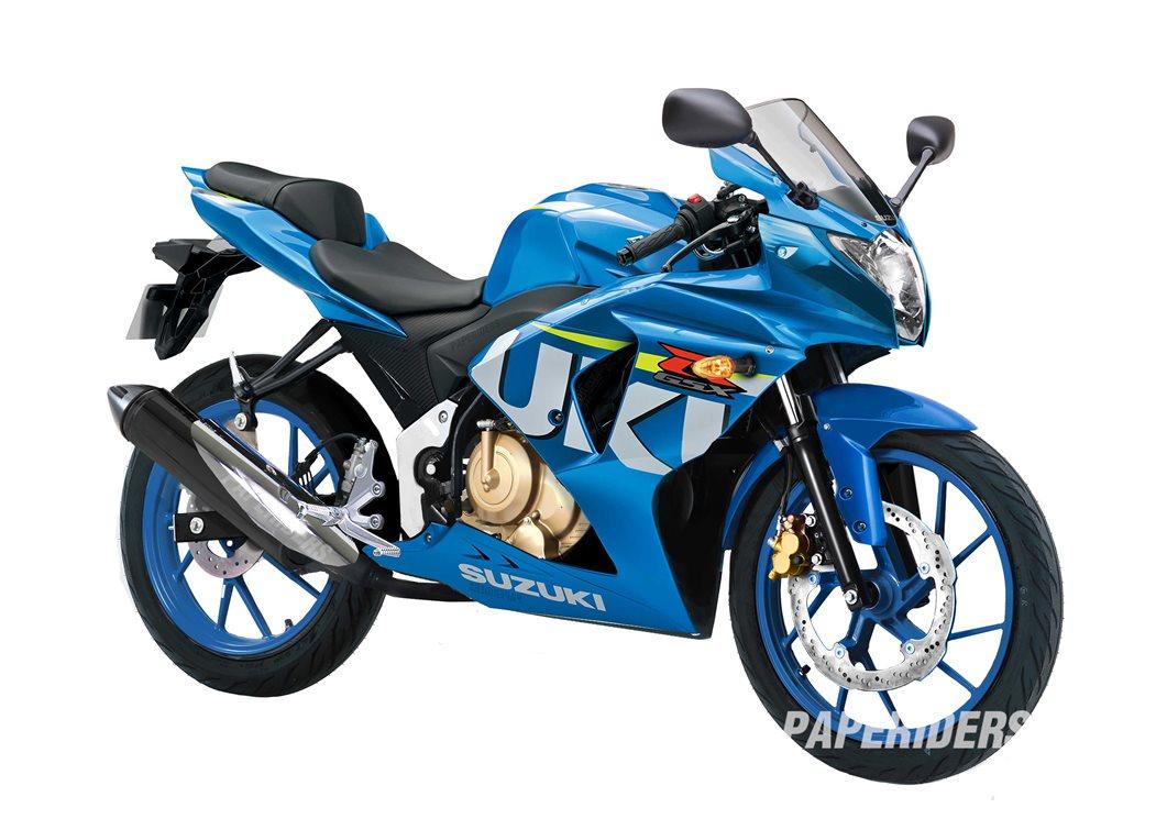 Renderan next motor sport fairing Suzuki Indonesia by Paperider . . .