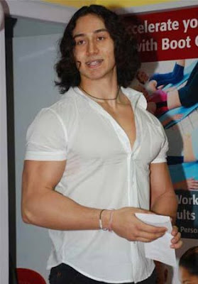 Tiger Shroff is seen at Snap 24/7 gym