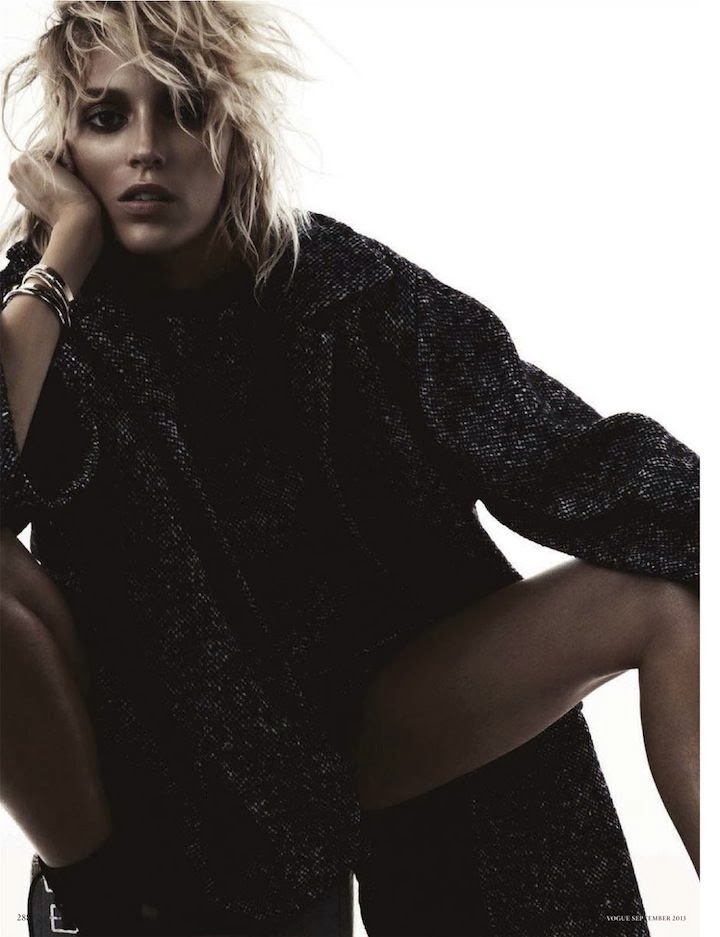 anja rubik, vogue germany september 2013