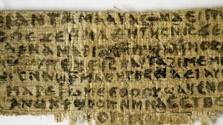 В папирусе нашли упоминание о жене Христа