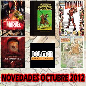 Dolmen Editorial: Novedades Octubre 2012