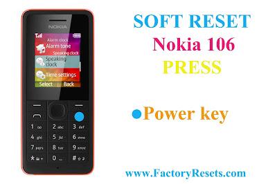 Soft-Reset-Nokia-106