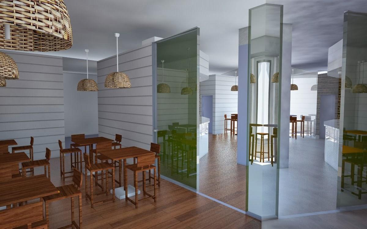 Decoracion de interior bar en sevilla decoracion de - Diseno de interiores malaga ...