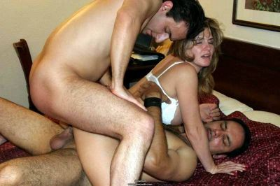 First threesome wife — pic 15