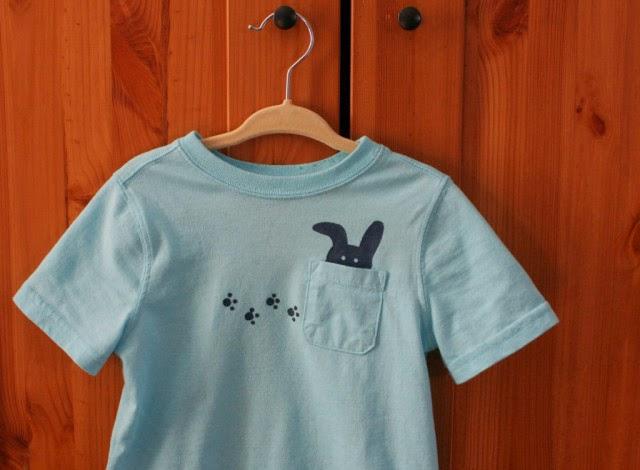 http://projectnursery.com/2014/03/diy-freezer-paper-stenciled-shirt