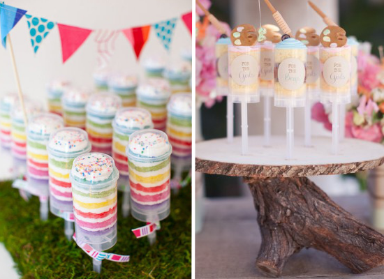 Wedding cake alternative ideas, wedding dessert, wedding push-pops