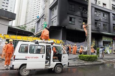 hỏa hoạn liên tiếp xảy ra tại các chung cư giá rẻ