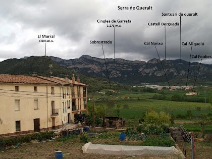 Panoràmica de la Serra de Queralt