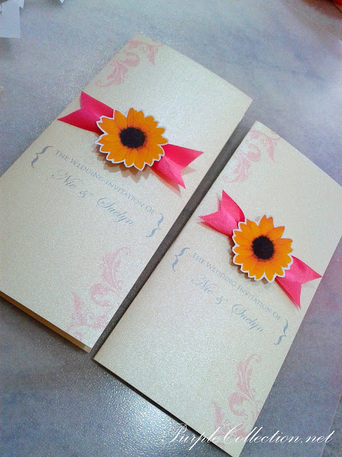 Sunflower Wedding Invitation Card, Sunflower, Wedding, Invitation Card, Wedding Invitation Card, Invitation, Card, Nie & Suelyn