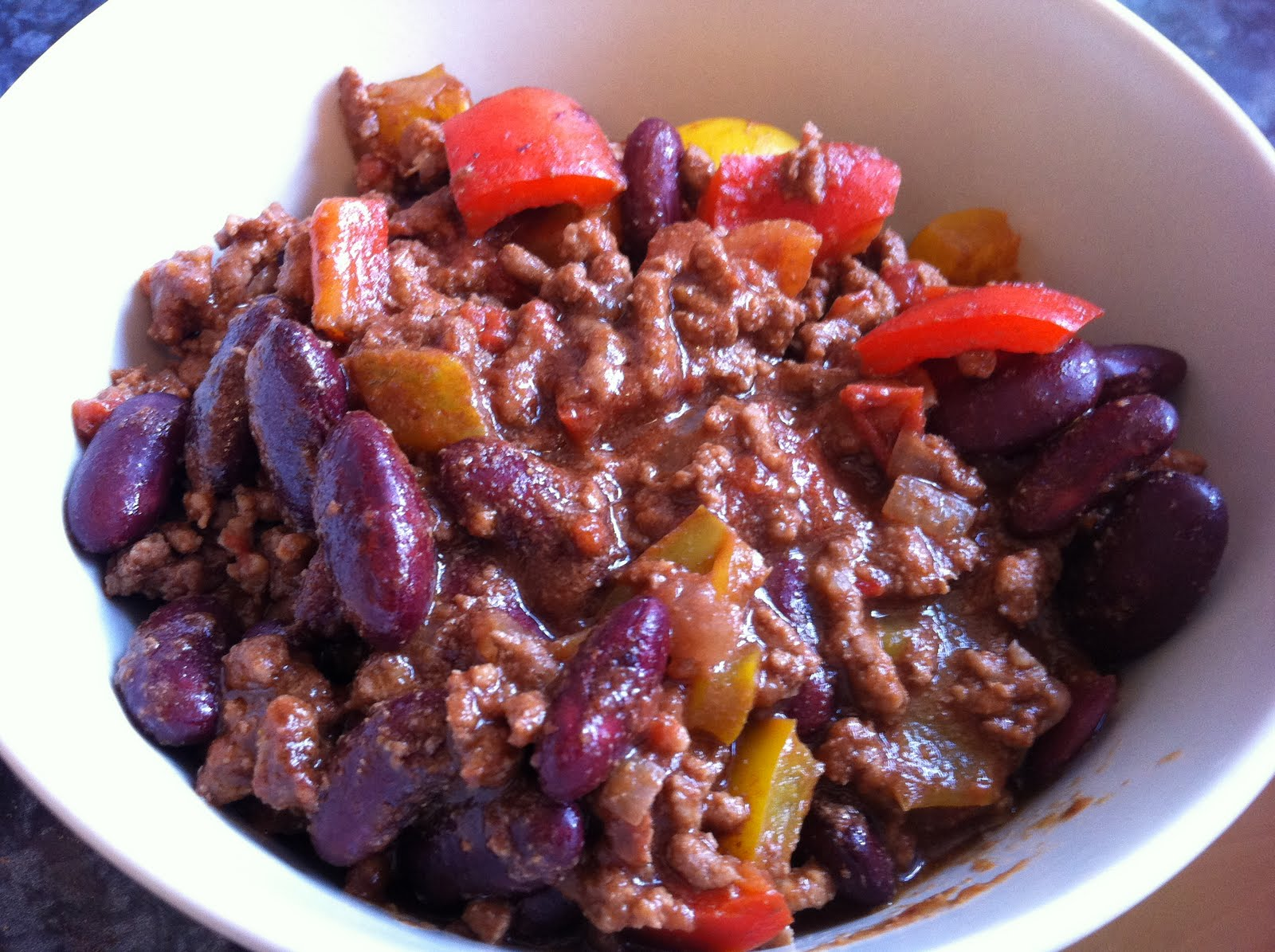 Tasting happiness chocolate chilli con carne for Adding chocolate to chilli con carne