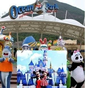 ocean park dan disneyland