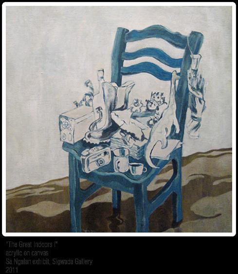 Ige Trinidad acrylic painting