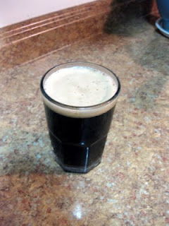 Despite being 6.5% ABV, this Scottish Stout calls for a glass not a snifter.