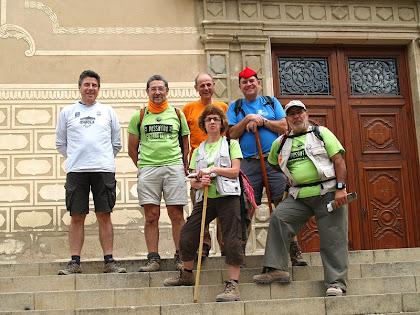 Caminada popular de Centelles 2011 amb l'amic Manel de Matorell