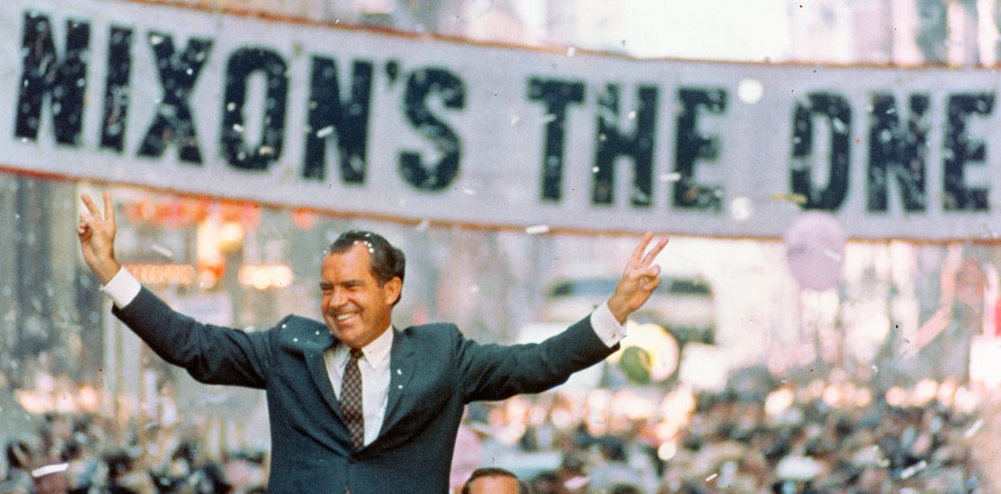 Image result for richard nixon elected president