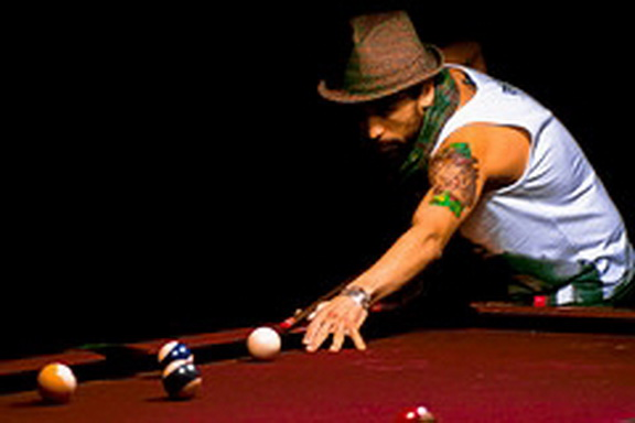 tattoo billiard, snooker tattoos idea