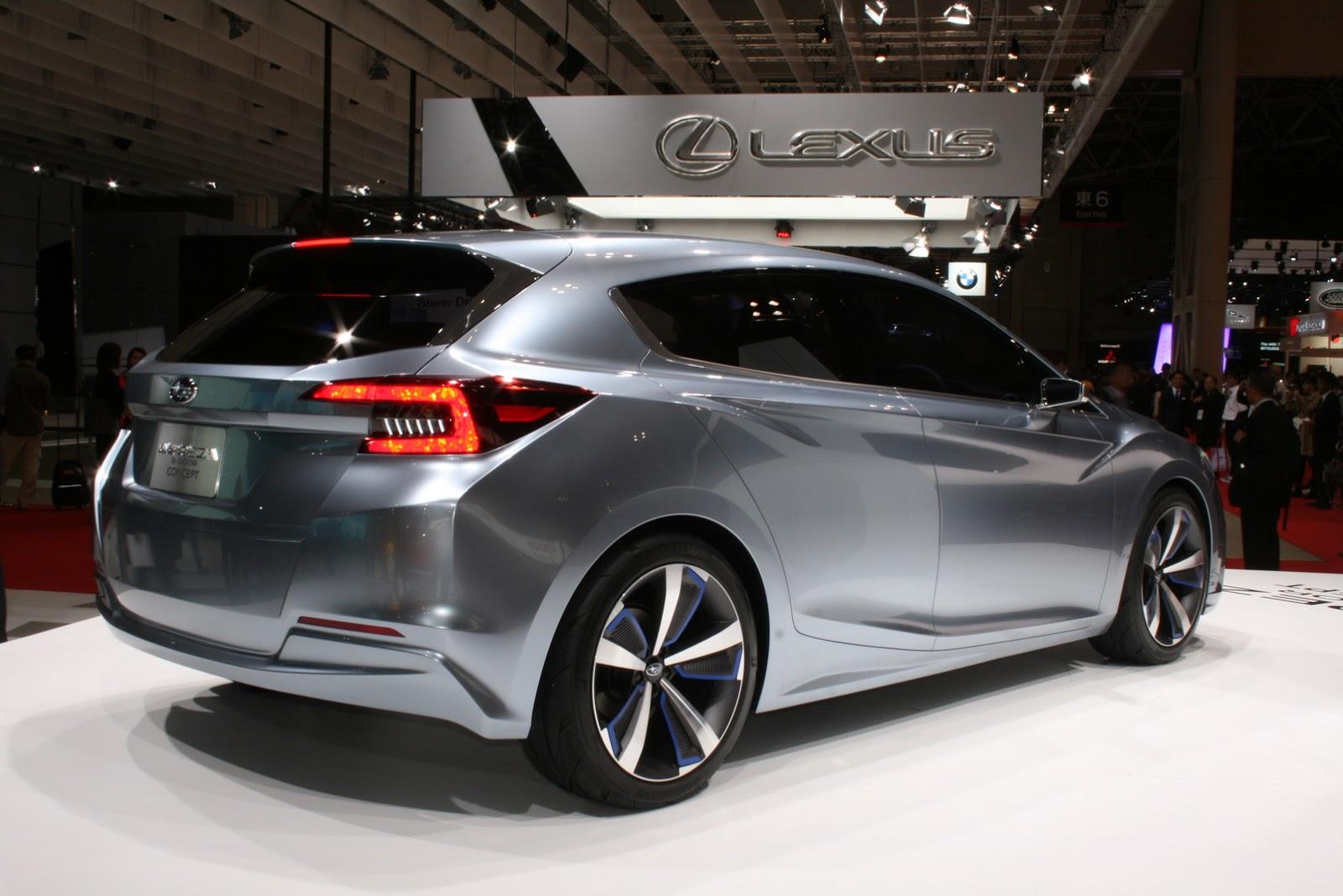 New Subaru Impreza Sedan Concept Coming To LA Auto Show ...
