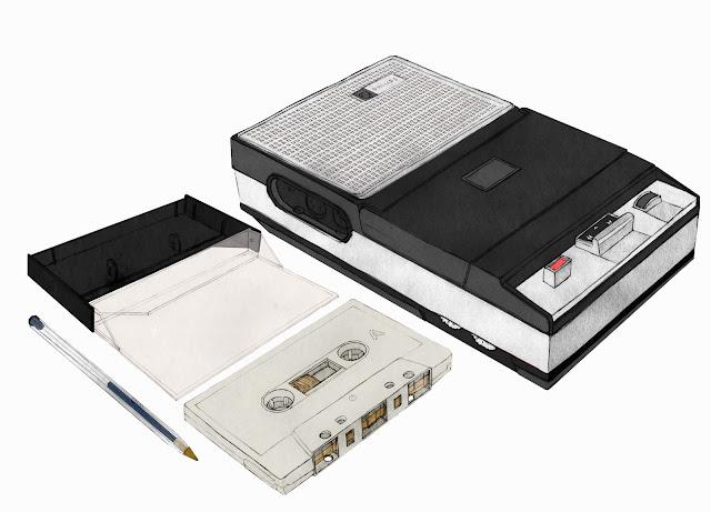 magnetoscopio, caset, casette, casete